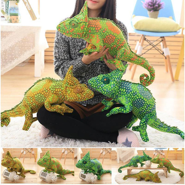 Lizard Chameleon Toys  Novelty Stuffed Animal Gifts, Unique Surprise Plush Toys Charmerry a01