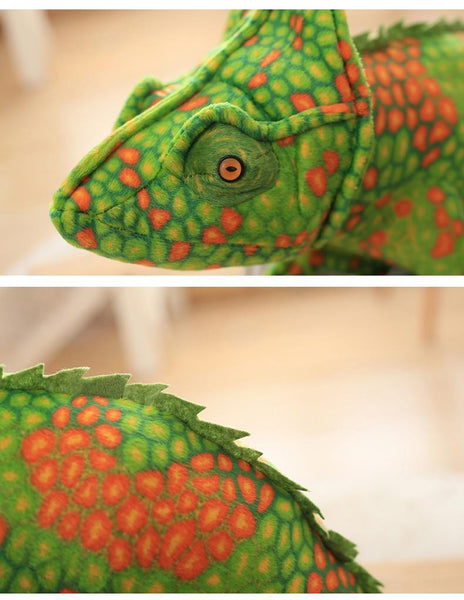 Lizard Chameleon Toys  Novelty Stuffed Animal Gifts, Unique Surprise Plush Toys Charmerry a04