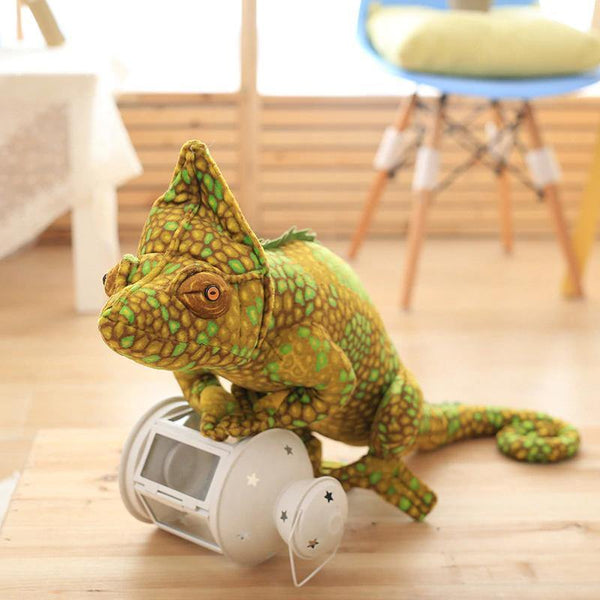 Lizard Chameleon Toys  Novelty Stuffed Animal Gifts, Unique Surprise Plush Toys Charmerry a03