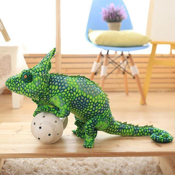 Lizard Chameleon Toys  Novelty Stuffed Animal Gifts, Unique Surprise Plush Toys Charmerry a07
