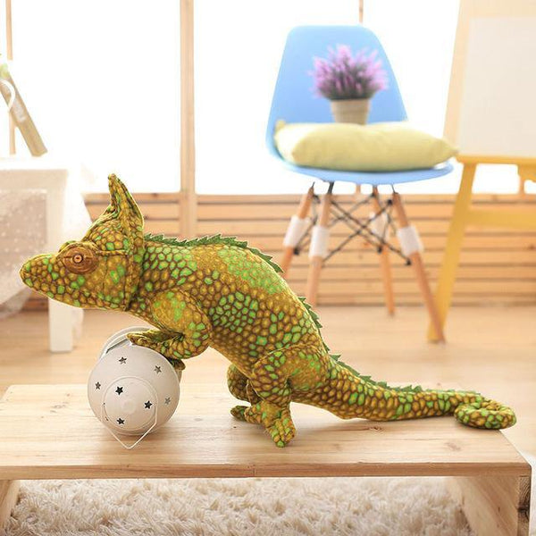Lizard Chameleon Toys  Novelty Stuffed Animal Gifts, Unique Surprise Plush Toys Charmerry a09