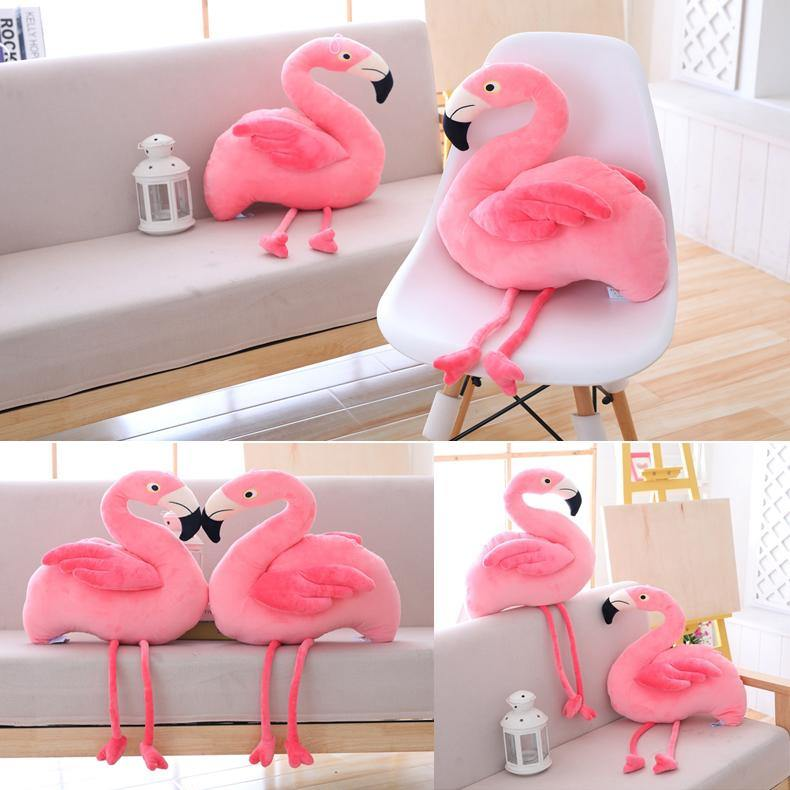 Plush Bird Stuffed Toy  Stuffed Animals, Plush Toys, Soft Toy Gifts (Flamingo) Charmerry a00