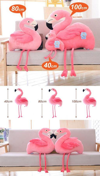 Plush Bird Stuffed Toy  Stuffed Animals, Plush Toys, Soft Toy Gifts (Flamingo) Charmerry a09