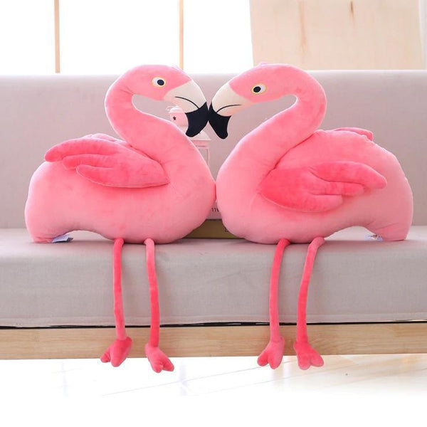 Plush Bird Stuffed Toy  Stuffed Animals, Plush Toys, Soft Toy Gifts (Flamingo) Charmerry a01
