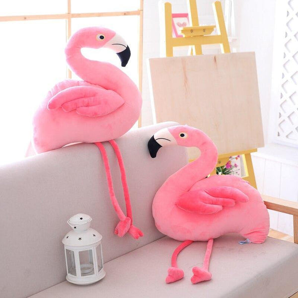 Plush Bird Stuffed Toy  Stuffed Animals, Plush Toys, Soft Toy Gifts (Flamingo) Charmerry a02