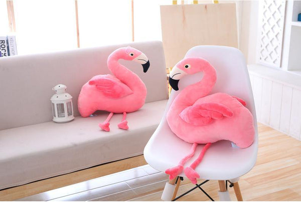 Plush Bird Stuffed Toy  Stuffed Animals, Plush Toys, Soft Toy Gifts (Flamingo) Charmerry a03