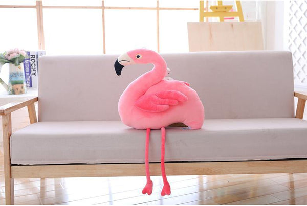 Plush Bird Stuffed Toy  Stuffed Animals, Plush Toys, Soft Toy Gifts (Flamingo) Charmerry a05