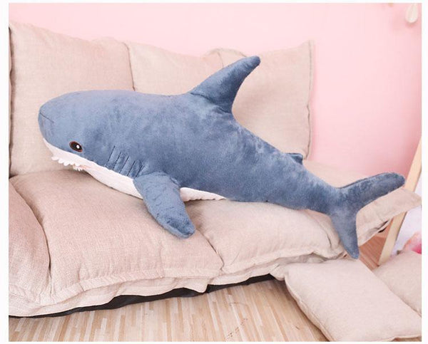 Plush Shark Stuffed Toy  Stuffed Animals, Plush Toys, Soft Toy Gifts Charmerry a03