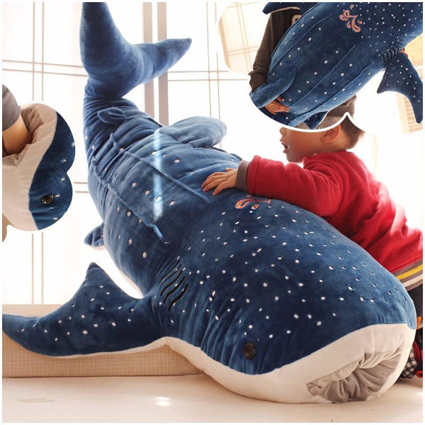 Plush Whale Stuffed Toy  Stuffed Animals, Plush Toys, Shark Fish Gifts Charmerry a01