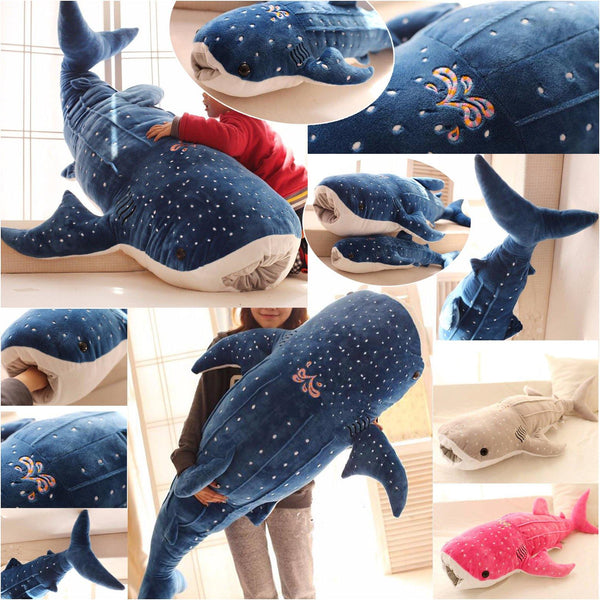 Plush Whale Stuffed Toy  Stuffed Animals, Plush Toys, Shark Fish Gifts Charmerry a06
