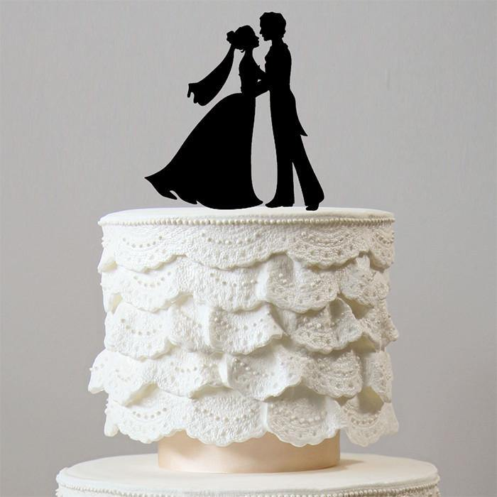 Prince and Princess First Dance Wedding Cake Topper (Romantic Fairy Tale)