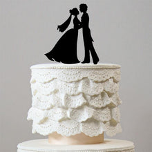 Load image into Gallery viewer, Prince and Princess First Dance Wedding Cake Topper (Romantic Fairy Tale) - CHARMERRY