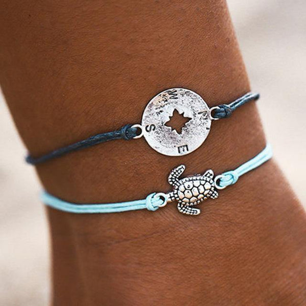 Summer Bracelets - Beach Hawaii Boho Chic Cosy Outfit Additions & Accessories CHARMERRY A04