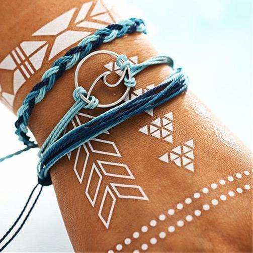 Summer Bracelets - Beach Hawaii Boho Chic Cosy Outfit Additions & Accessories CHARMERRY A03