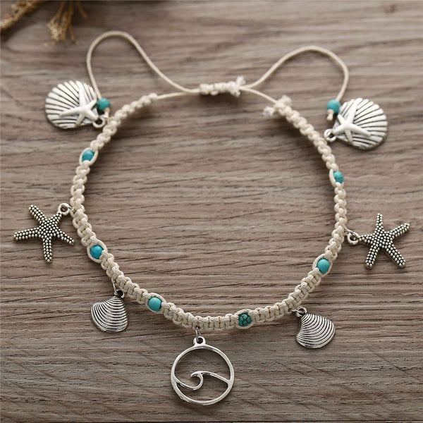 Summer Chic Anklets - Ankle Jewelry, Ankle Bracelets & Foot Chains  Outfit Additions & Accessories CHARMERRY B22