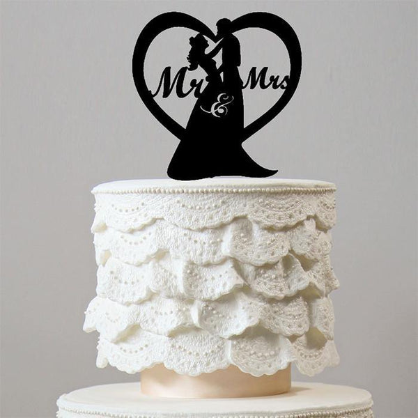 love heart wedding cake toppers cake toppers mr amp mrs charmerry 16953