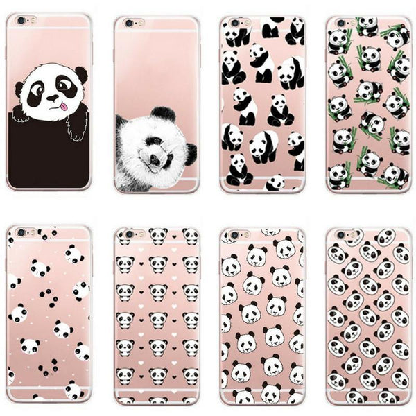iPhone 7 Plus - Panda iPhone7 Case (Scratch, Shock &Drop Protection)