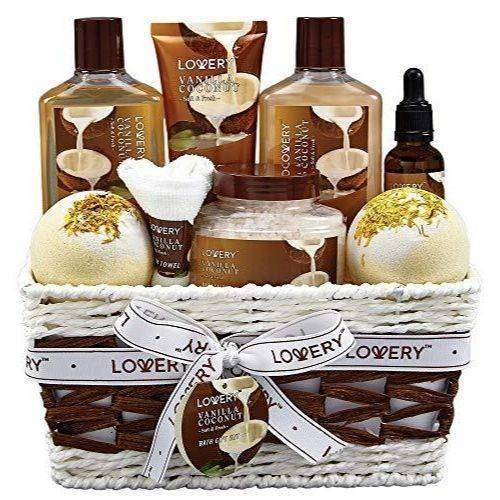Bath and Body Gift Basket | Beauty & Spa Gift Set For Men and Women - Charmerry