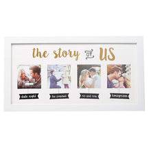 Load image into Gallery viewer, Wedding Collage White Picture Frame, Wedding Gifts - Charmerry