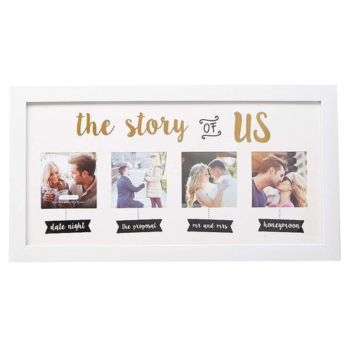 Wedding Collage White Picture Frame, Wedding Gifts - Charmerry