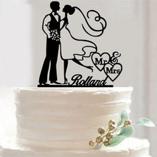 Load image into Gallery viewer, Cake Topper /Cake Decoration /Cake Decorating (Romantic Wedding) - CHARMERRY