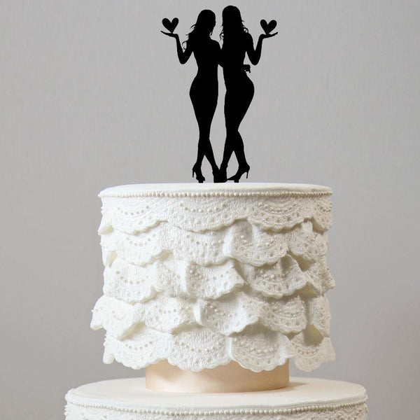 Wedding Cake Topper Decoration (Same-sex Marriage  Homosexual Love) Charmerry