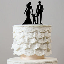 Load image into Gallery viewer, Wedding Cake Topper (Family Son Daughter Baby Kids Children Boy Girl) - CHARMERRY