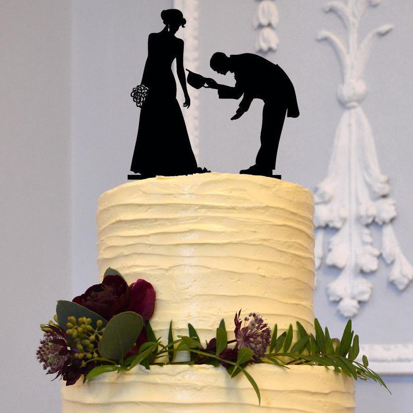 Wedding Cake Toppers (May I Have This Dance / First Dance Invitation) - CHARMERRY