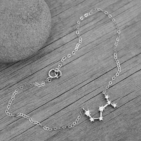 Zodiac Constellation Anklets - Ankle Bracelets & Chains | Foot Jewelry Gifts Charmerry a03