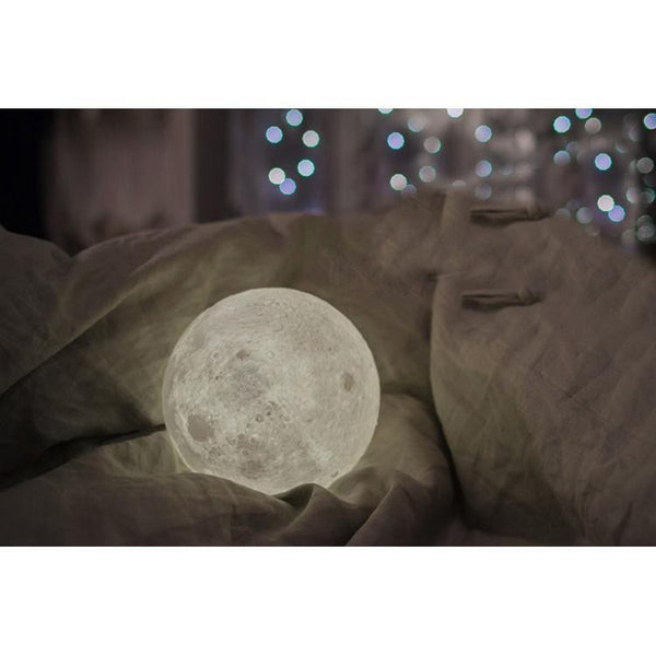 "Novelty Moon Lamp /Creative Night Light Gifts (Unique Moonlight Design) [3.5"" /4.7"" /5.9""]"