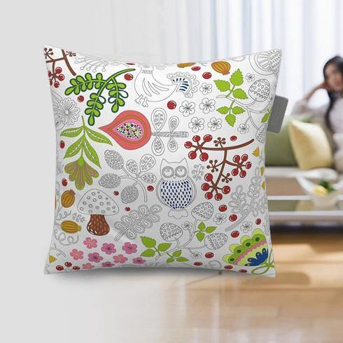 Diy Pillowcase Set: Pillow Case Covers (DIY Coloring Cushion Covers  Creative    ,
