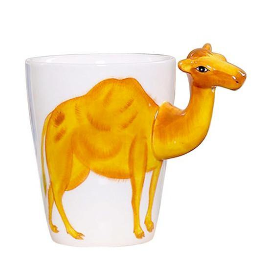 Camel Coffee Mug -Unique Ceramic Tea Cup (Special Gifts, Creative &Novelty)