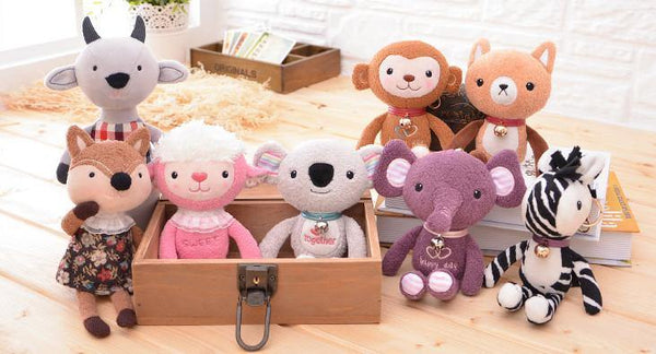 "Bear Stuffed Animal /Plush Toy Gift (Rag Doll Keychain /Key Ring) [7.8"" /20cm]"