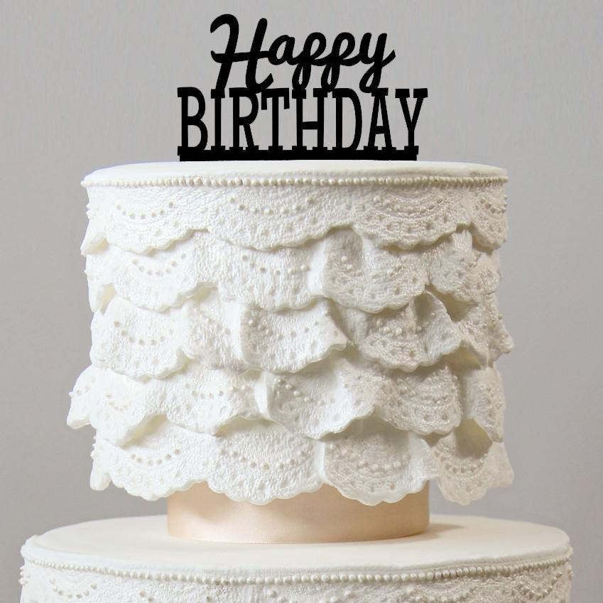 Happy birthday cake toppers party supplies accessories happy birthday cake toppers party supplies accessories decorations junglespirit Image collections