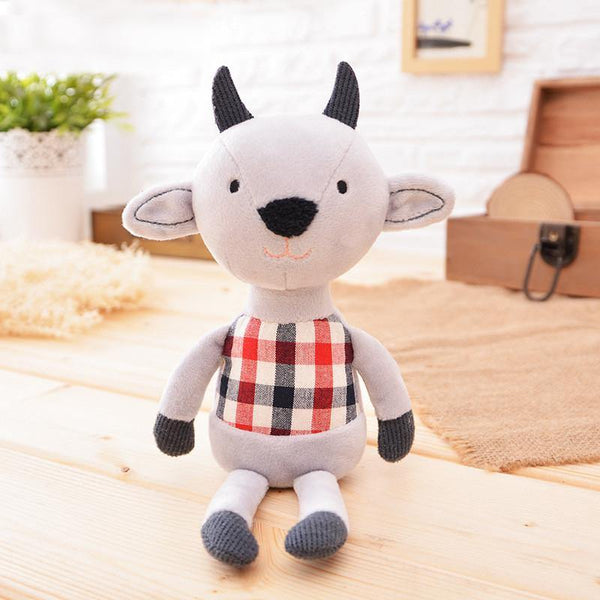 "Bull Stuffed Animal /Plush Toy Gift (Rag Doll Keychain /Key Ring) [7.8"" /20cm]"