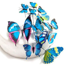 Load image into Gallery viewer, Butterfly Cake Toppers (Rustic /Vintage /Fantasy Wedding Decorations) [12/Set] - CHARMERRY