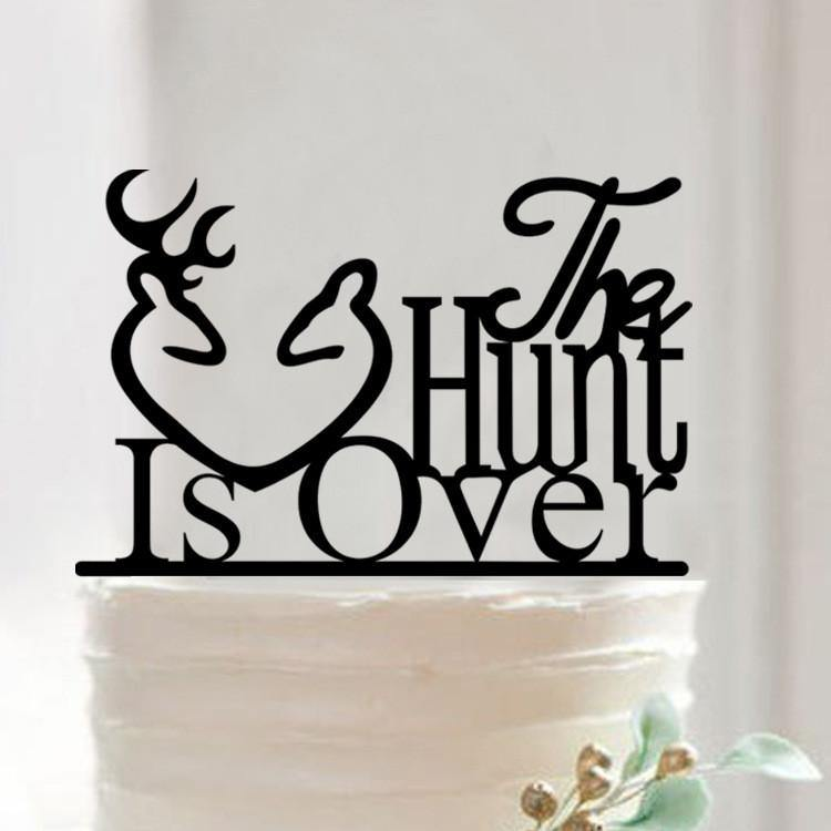 Wedding Cake Topper Creative Funny Humorous Happy