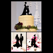 Load image into Gallery viewer, cake toppers wedding pregnant mother to be pregnancy family baby engagement bridal shower charmerry A01