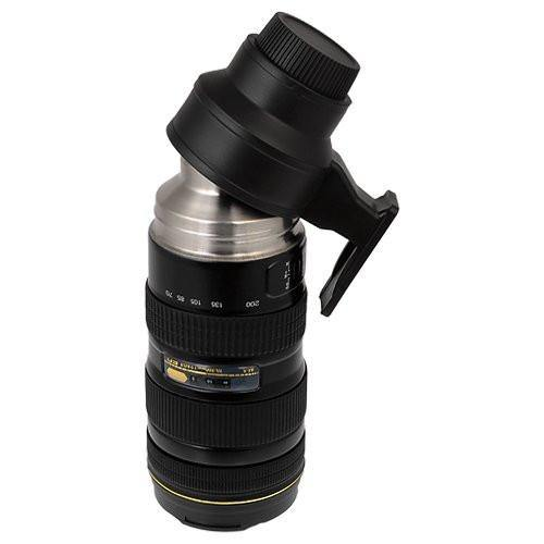 Camera Lens Thermos /Tea Coffee Mug Gift for Photographers &Nikon Fans [19.6oz.]