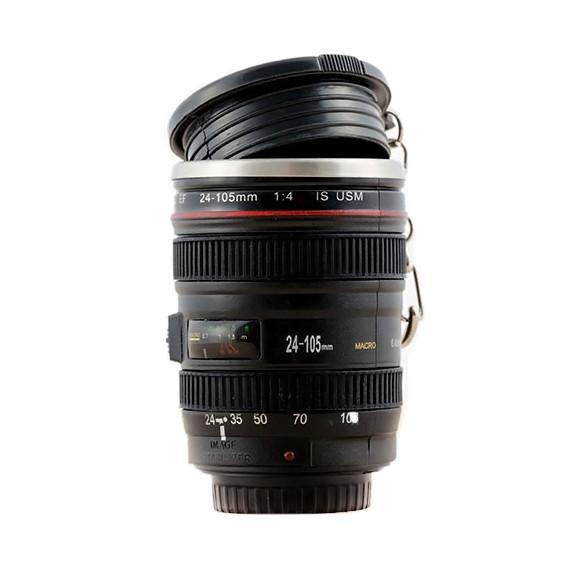 Camera Lens Mug /Tea Coffee Cup Gift for Photographers & Canon Fans [4oz.]