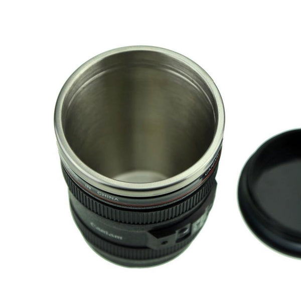 Camera Lens Mug /Tea Coffee Cup Gift for Photographers &Canon Fans [13.5oz.]