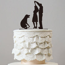Load image into Gallery viewer, Cake Topper for Wedding Anniversary Engagement (Dog Pet Puppy)(Wedding First Dance /Romantic Waltz) - CHARMERRY