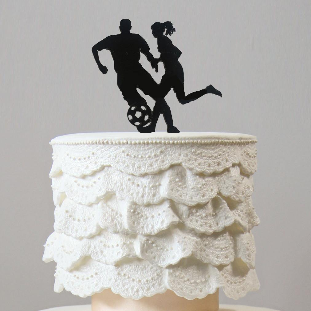 Football Cake Topper (Party Decoration /Soccer Player /Sport Game)