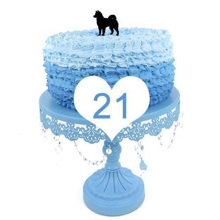 Dog Cake Topper (Pet Puppy Wedding Decor /Sweet Family /Cute &Lovely) [30 Styles]