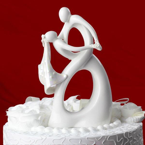 Cake Topper Cake Topper Figure Figurine (Wedding Dance Waltz /Romantic Dip Dancing) - Charmerry