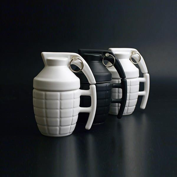 Grenade Coffee Mug (Creative Unique Tea Cup /Novelty Funny Teacup Gift)