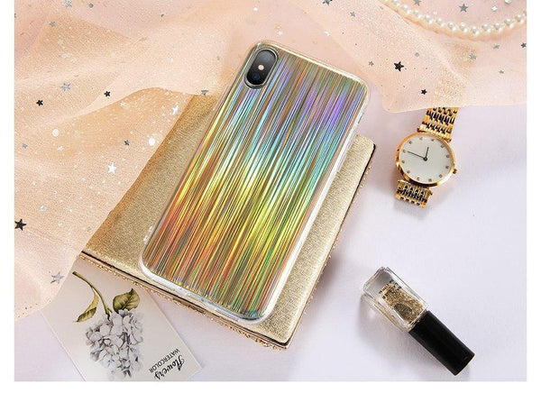 iphone cases x 8 plus 7 6s 6 glitter shining gold sparkle silver chic fashion outfit accessories mobile phone protective trendy bling bling luxury simple charmerry a2