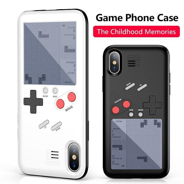iphone cases x xs 8 plus 7 6s 6 built in games console mobile phone covers gifts cool novelty unique cool protective charmerry a1