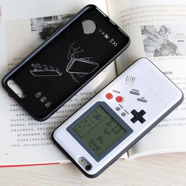 iphone cases x xs 8 plus 7 6s 6 built in games console mobile phone covers gifts cool novelty unique cool protective charmerry a2