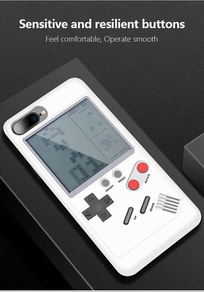 iphone cases x xs 8 plus 7 6s 6 built in games console mobile phone covers gifts cool novelty unique cool protective charmerry a9